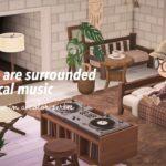 【あつ森】休日はクラシックな音楽に包まれて【レイアウト】