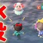【あつ森】無料アプデ後に海に住民が突入するバグが相次いでいる模様。原因不明?どうしてこうなった!?【あつまれどうぶつの森/Animal Crossing/無料アップデート】