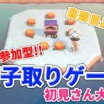 【あつ森】ライブ参加型 椅子取りゲームや流星群かぼちゃ島 雑談