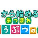 #1🔴【あつ森-Live】新しくSwitch買ったからあつ森を1からやっていく!【初見ぷれい】