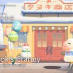 【あつ森】森の広場とタヌキ商店|Nook's Cranny【Case2:Snowy winter-Early spring|島クリエイター】